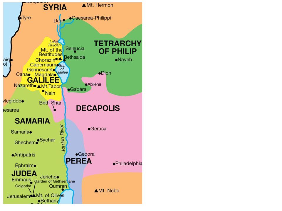Jesus zog durch ganz Galiläa; er lehrte in den Synagogen, verkündete die Botschaft vom Reich Gottes und heilte alle Kranken und Leidenden im Volk.