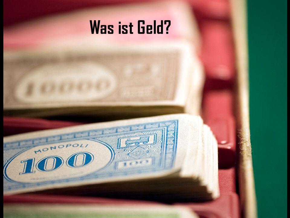 Warum ist Geld wichtig?