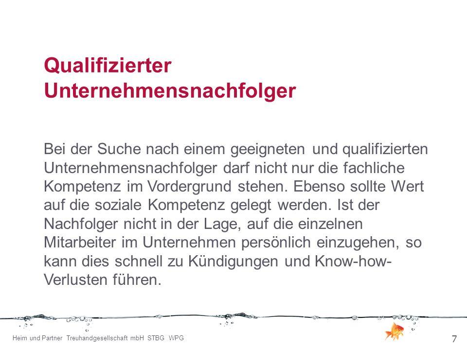 Treuhandgesellschaft mbH Steuerberatungsgesellschaft Wirtschaftsprüfungsgesellschaft Uferweg 40 – 42 63571 Gelnhausen Telefon:06051 - 4803-0 E-Mail:g.heim@heim-und-partner.de Internet:www.heim-und-partner.de