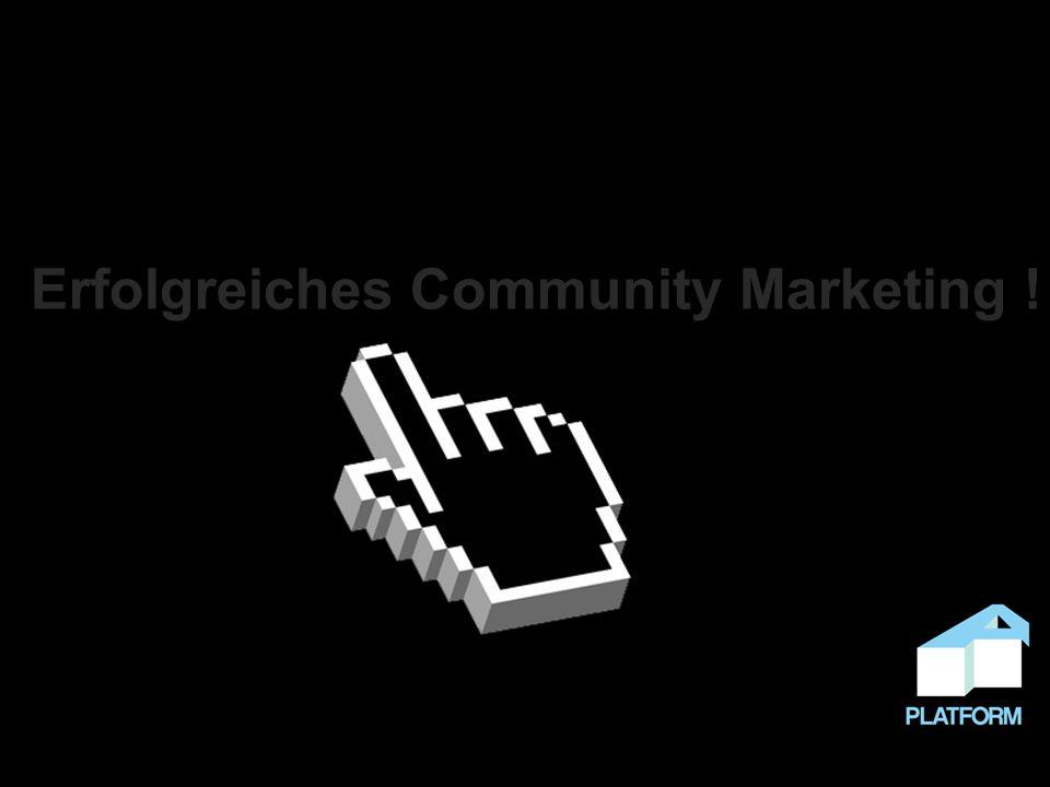 Erfolgreiches Community Marketing !
