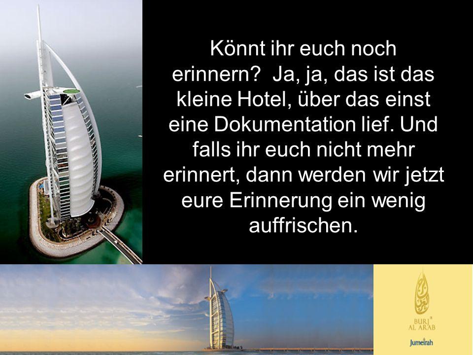 Hier seht ihr ein virtuelles Modell des Turmes Burj.