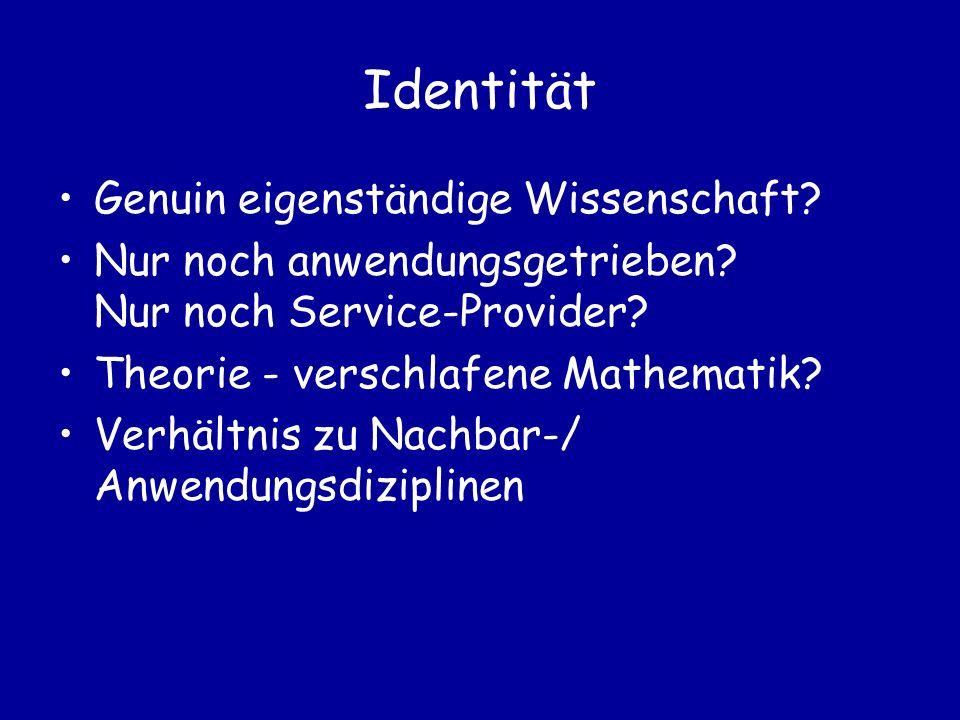 Kriterien für Zugehörigkeit zur Informatik definiert durch Untersuchungsgegenstand / Anwendungsgebiet oder Methoden/Grundlagen oder durch die Ausführenden?