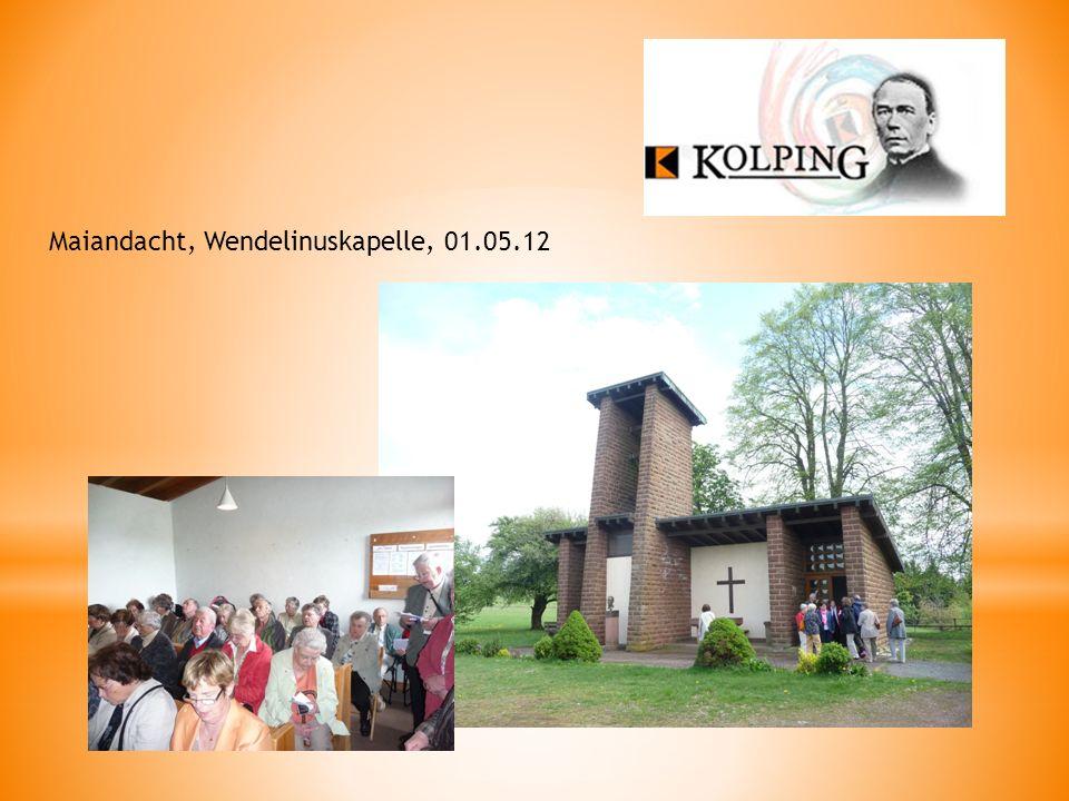 Maiandacht, Wendelinuskapelle, 01.05.12