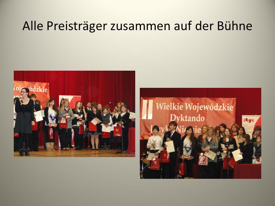 Alle Preisträger zusammen auf der Bühne