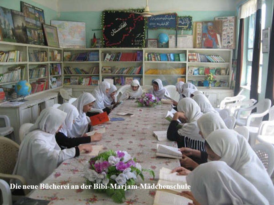 Die neue Bücherei an der Bibi-Marjam-Mädchenschule