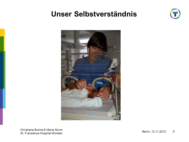 Berlin, 12.11.2012 Christiane Buhne & Maria Sturm St. Franziskus-Hospital Münster 16