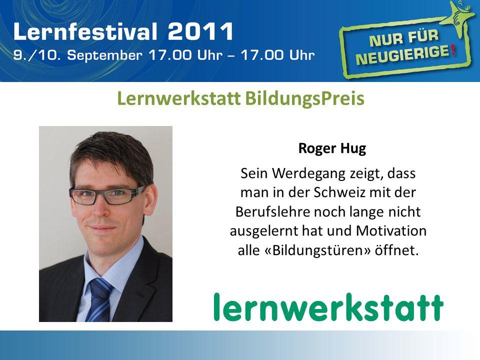 Sein Werdegang zeigt, dass man in der Schweiz mit der Berufslehre noch lange nicht ausgelernt hat und Motivation alle «Bildungstüren» öffnet. Lernwerk