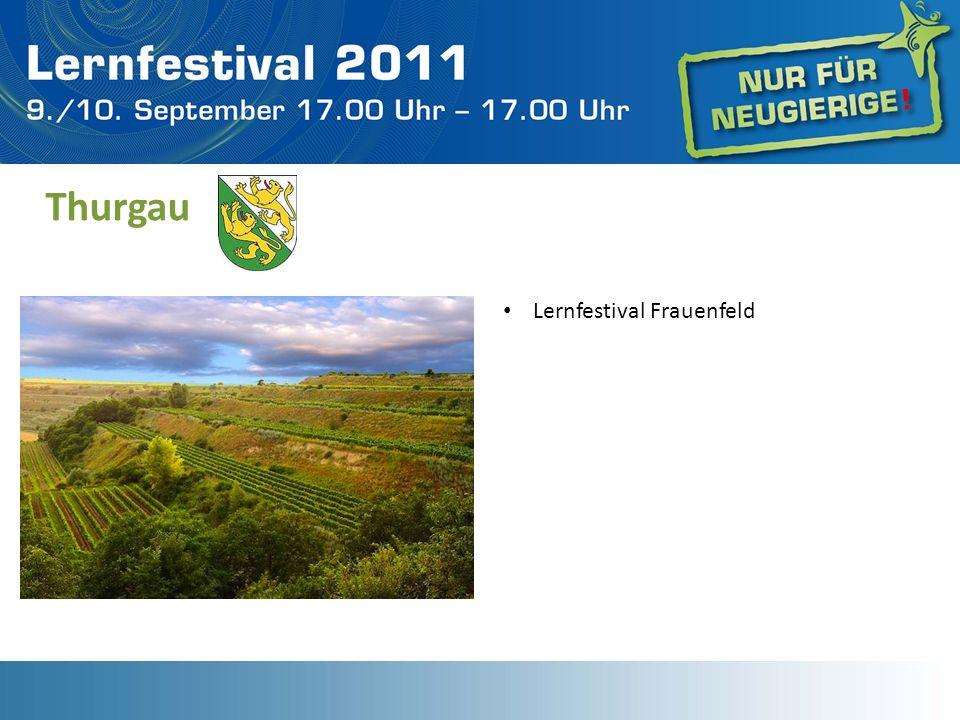 Thurgau Lernfestival Frauenfeld