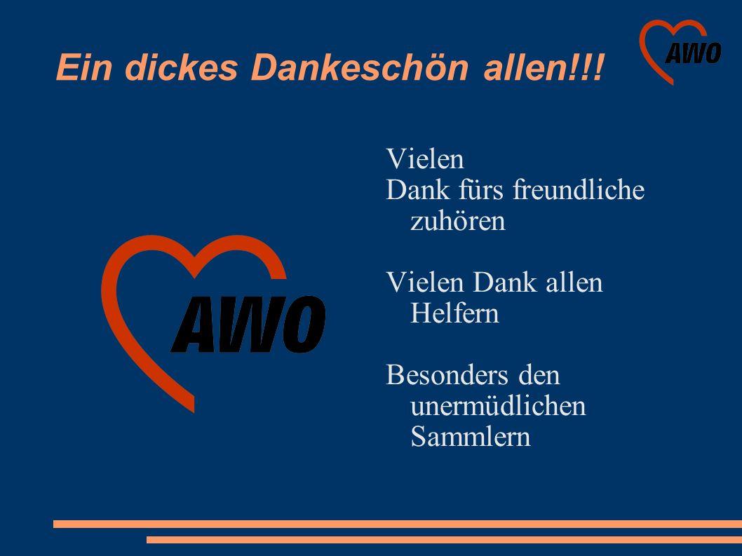 Ein dickes Dankeschön allen!!.