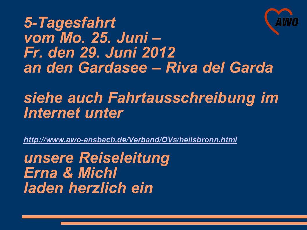 Teilnahme am Stadfest mit einer Frucht-Oase vom 20. bis 22. Juli