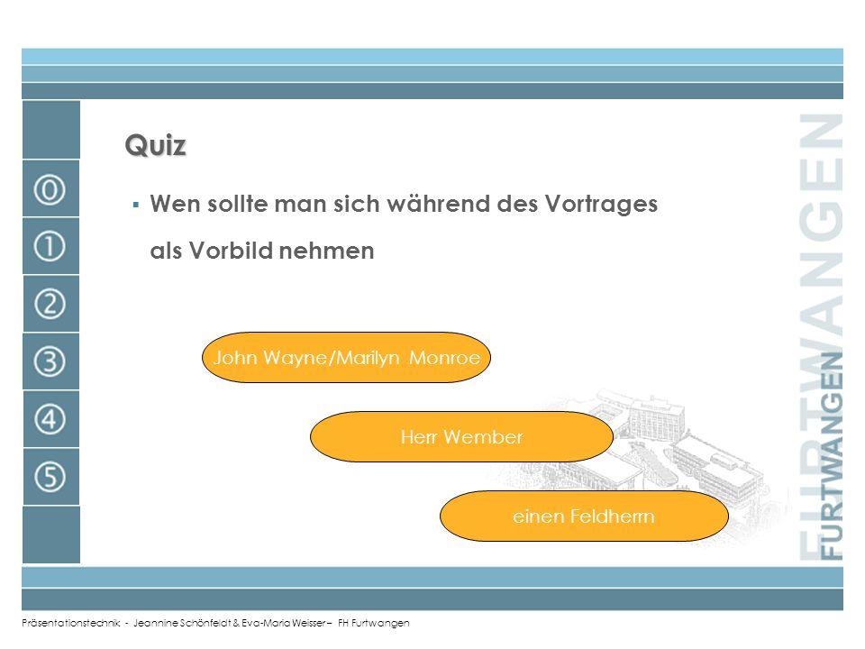 Präsentationstechnik - Jeannine Schönfeldt & Eva-Maria Weisser – FH Furtwangen langfristige Mittel viel und laut lesen überall Reden halten in Diskuss