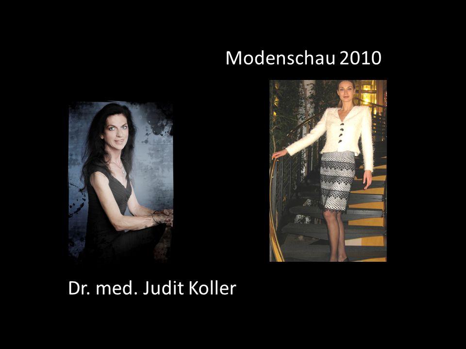 Dr. med. Judit Koller Modenschau 2010
