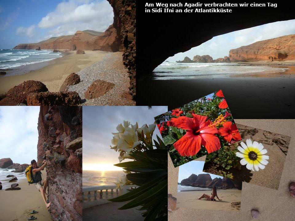 Am Weg nach Agadir verbrachten wir einen Tag in Sidi Ifni an der Atlantikküste