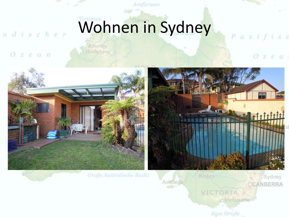 Wohnen in Sydney