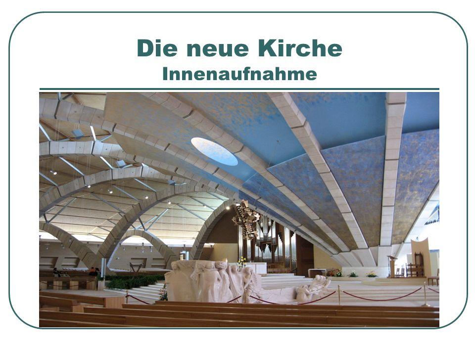 Die neue Kirche Innenaufnahme