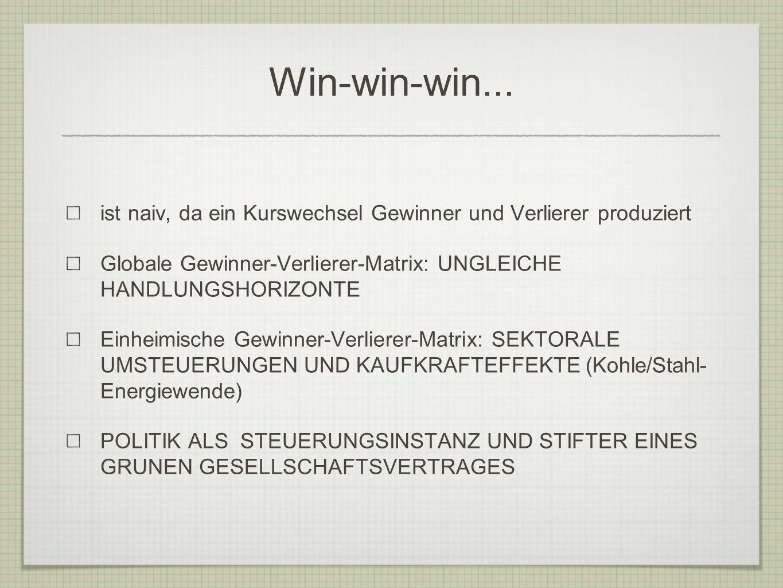 Win-win-win...