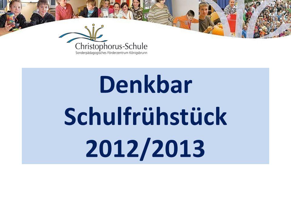 Denkbar Schulfrühstück 2012/2013