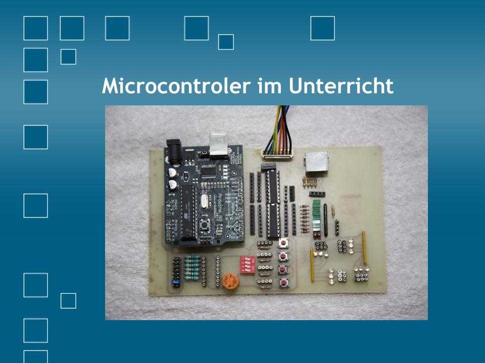 Microcontroler im Unterricht