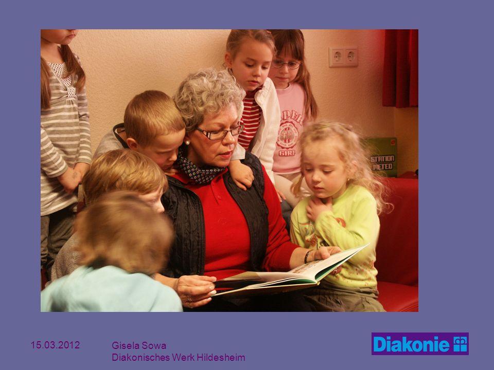 15.03.2012 Gisela Sowa Diakonisches Werk Hildesheim