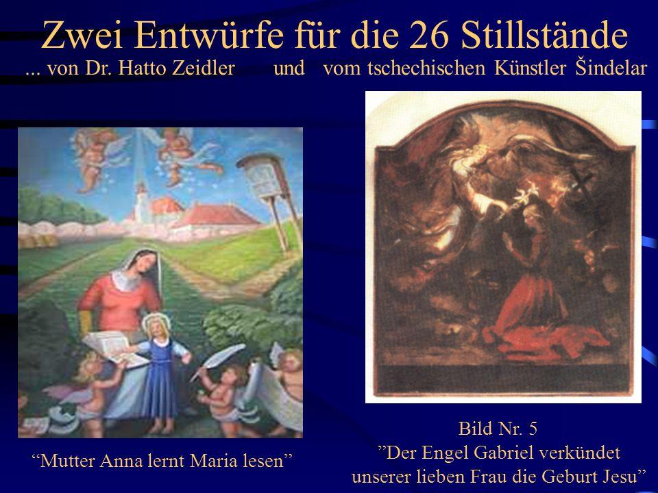 ….. weitere Figurengruppen Maria HimmelfahrtNeu: Geburt Christi