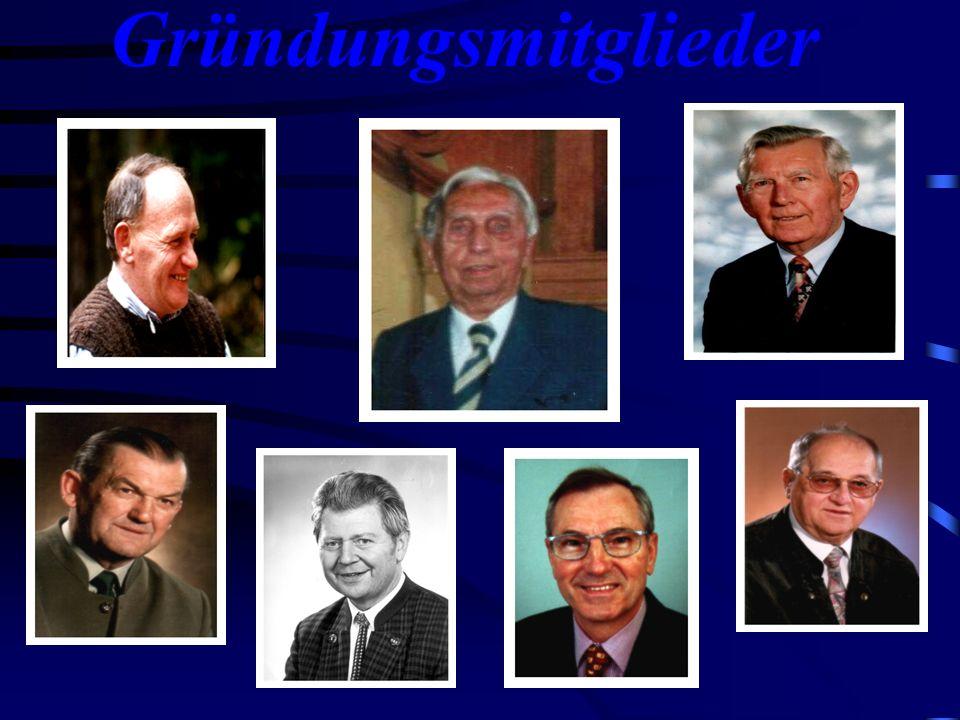 Gründungstag 1. Vorsitzender Herr Ing. Anton Hart 11. Februar 1992