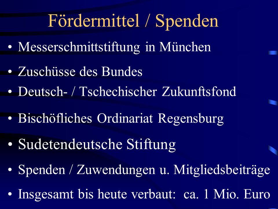 Aktuelle Mitgliederzahl 311 Betreute Wallfahrer, Besucher und Touristen seit 1996: ca.