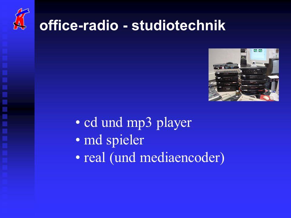 cd und mp3 player md spieler real (und mediaencoder)