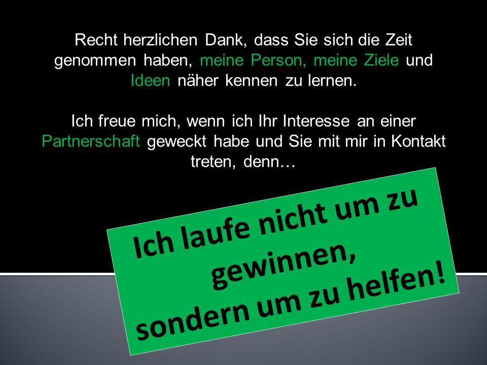 Kontakt Bei Interesse an einer Kooperation erreichen Sie mich unter: (0043) 0664/401 30 90 www.christoph-grabner.at Christoph Grabner Föhrenstraße 4,