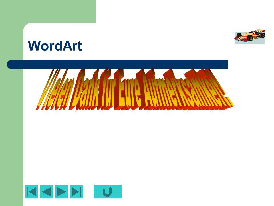 Cliparts/Grafiken Neu eingefärbtes Fremdobjekt Umgewandeltes Zeichnungsobjekt neu gruppiert Zugeschnittene Grafik (Grafiksymbolleiste) Zuschneiden
