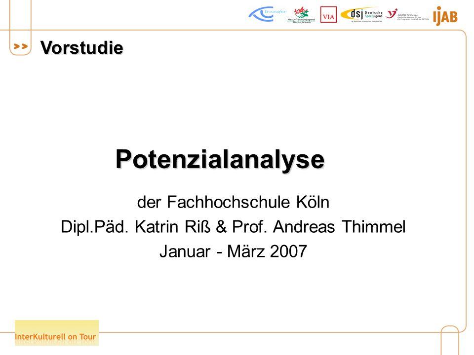 Potenzialanalyse der Fachhochschule Köln Dipl.Päd.