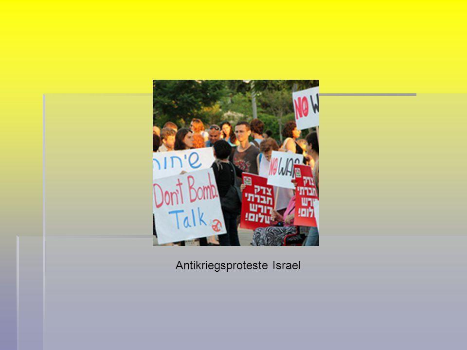 Antikriegsproteste Israel