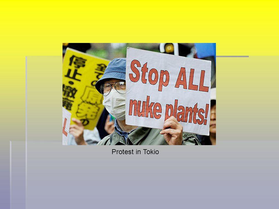 Protest in Tokio