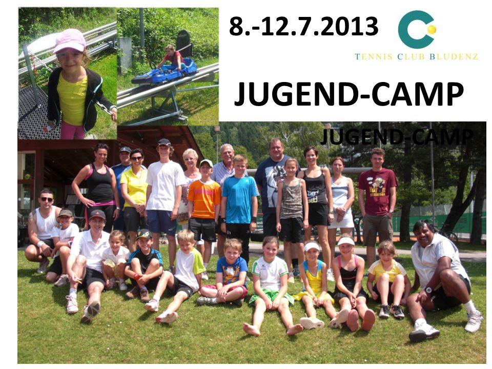 8.-12.7.2013 JUGEND-CAMP
