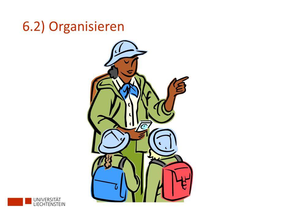 6.2) Organisieren