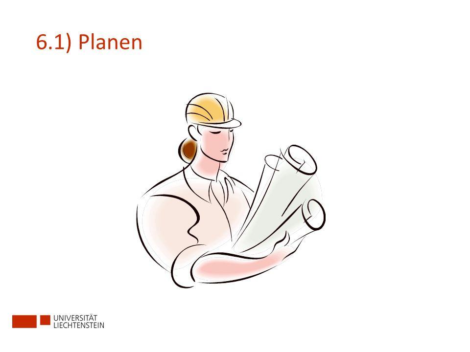 6.1) Planen