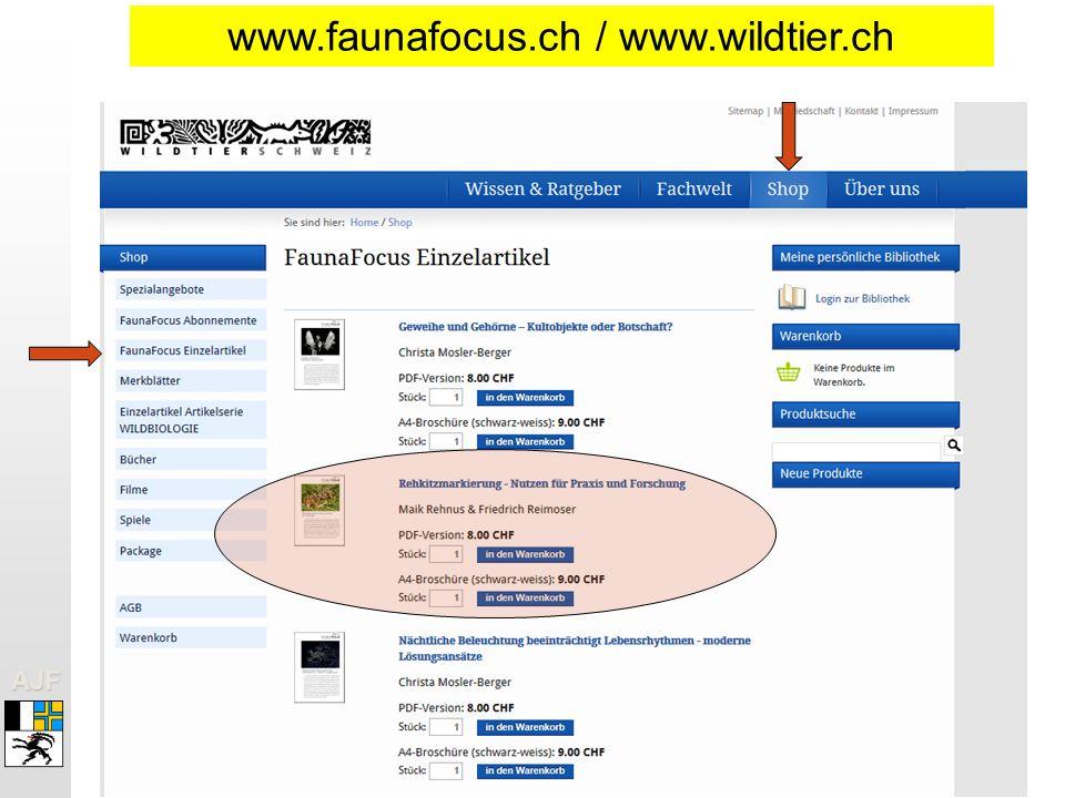 AJFAJF www.faunafocus.ch / www.wildtier.ch
