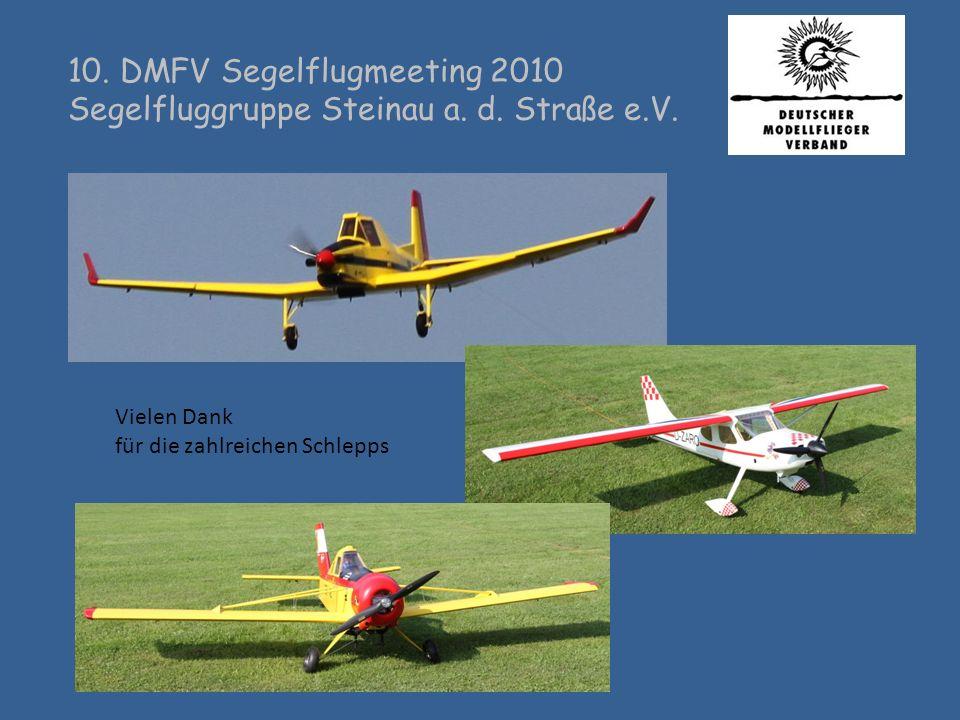 10. DMFV Segelflugmeeting 2010 Segelfluggruppe Steinau a. d. Straße e.V. Thermik suchen?