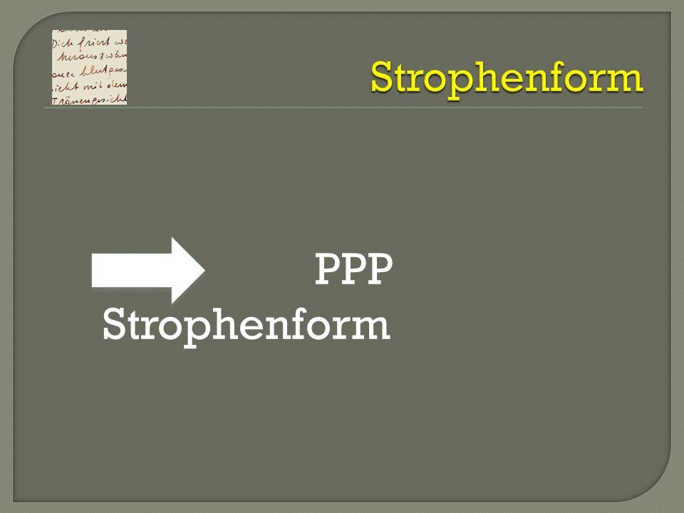 PPP Strophenform