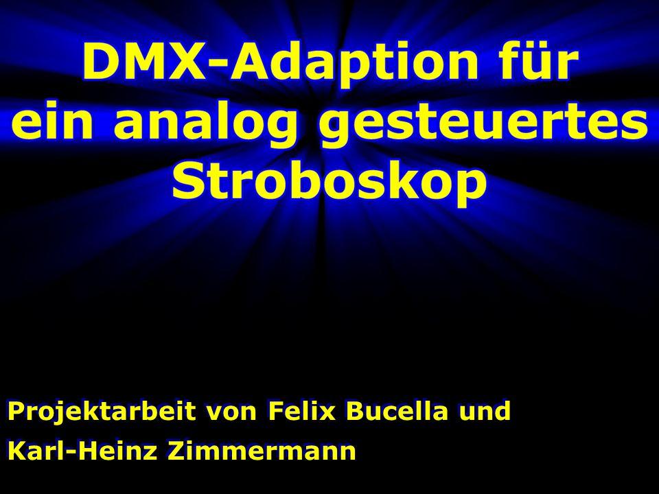 Inhalt Bisherige Analoge Steuerung DMX-512 Empfang Frequenzerzeugung Flashfunktion