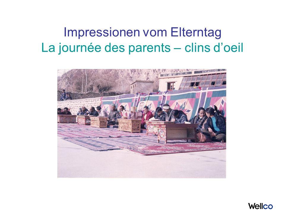 Impressionen vom Elterntag La journée des parents – clins doeil