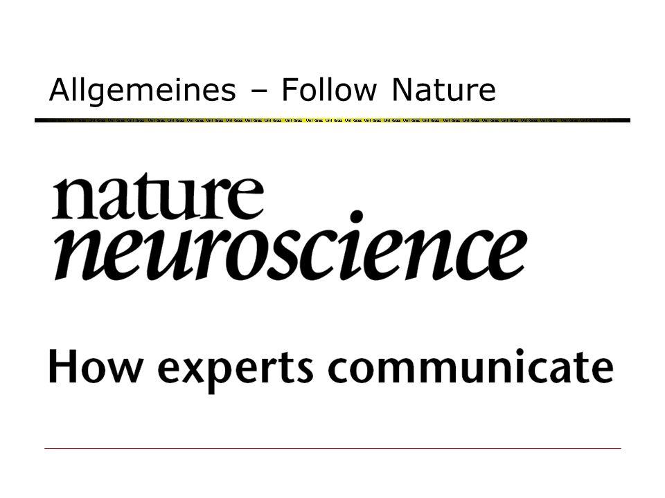 Allgemeines – Follow Nature