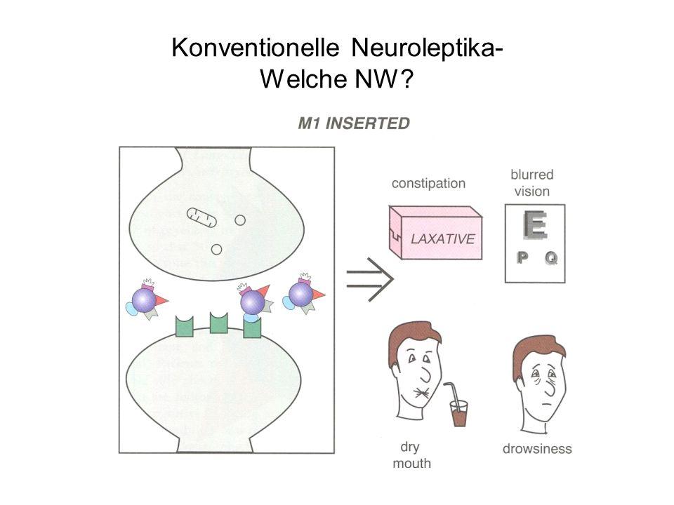 Konventionelle Neuroleptika- Gibt´s da NW .