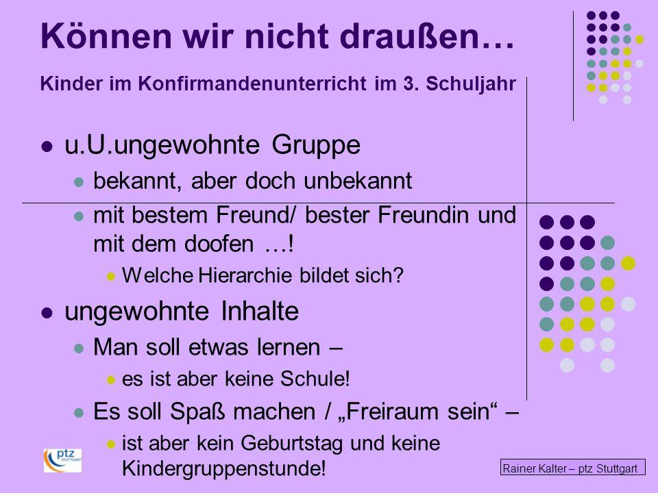 Rainer Kalter – ptz Stuttgart Als Tisch-Mutter - Nachbarin - Lehrerin- … Autorität sein.