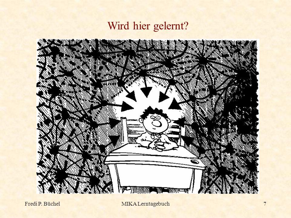 Fredi P. BüchelMIKA Lerntagebuch18 Strategien