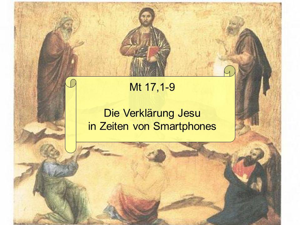Wir sind dann mal auf dem Berg; Jesus will eine Runde beten! Na, das kann dauern ;) Bis später!