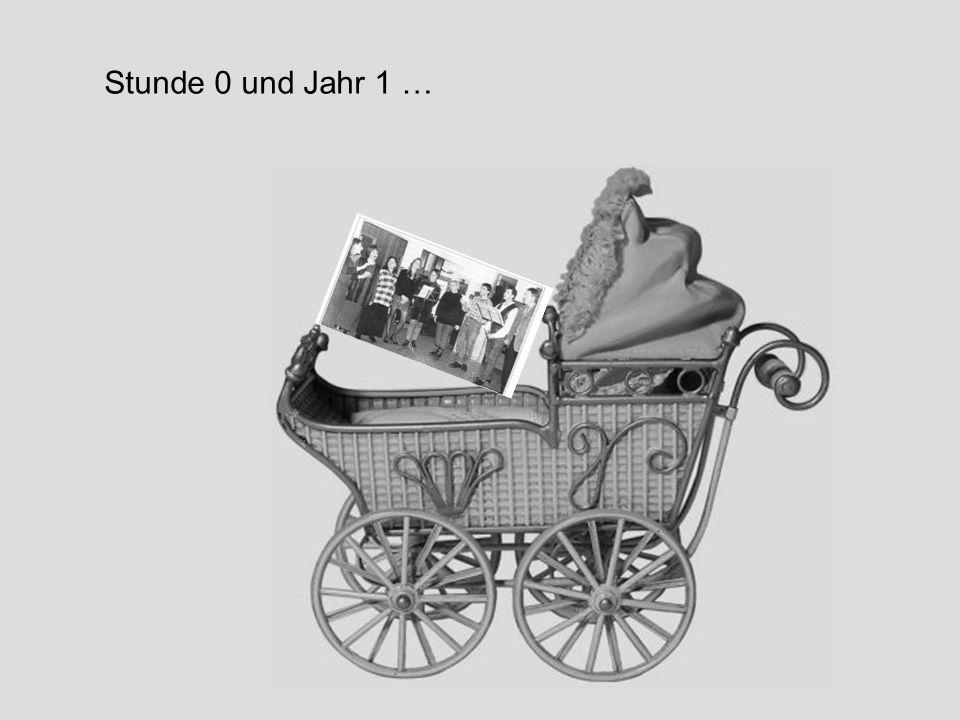 1996 – Das erste Jahr Anfang 1996 fanden sich in Hamm einige Leute zusammen, die einen neuen Chor gründen, jedenfalls zusammen singen wollten.