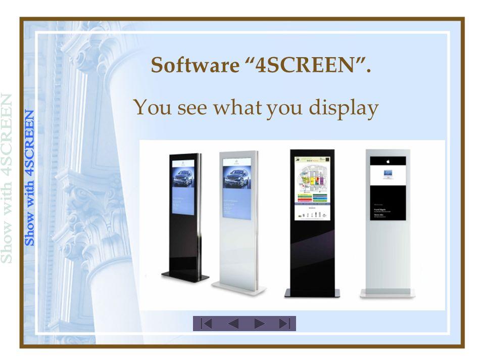 Türschilder (Panel): FPM-50G (15) Software 4SCREEN.