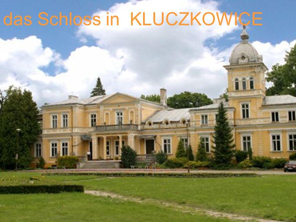 das Schloss in KLUCZKOWICE
