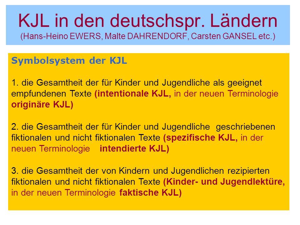 KJL in den deutschspr.