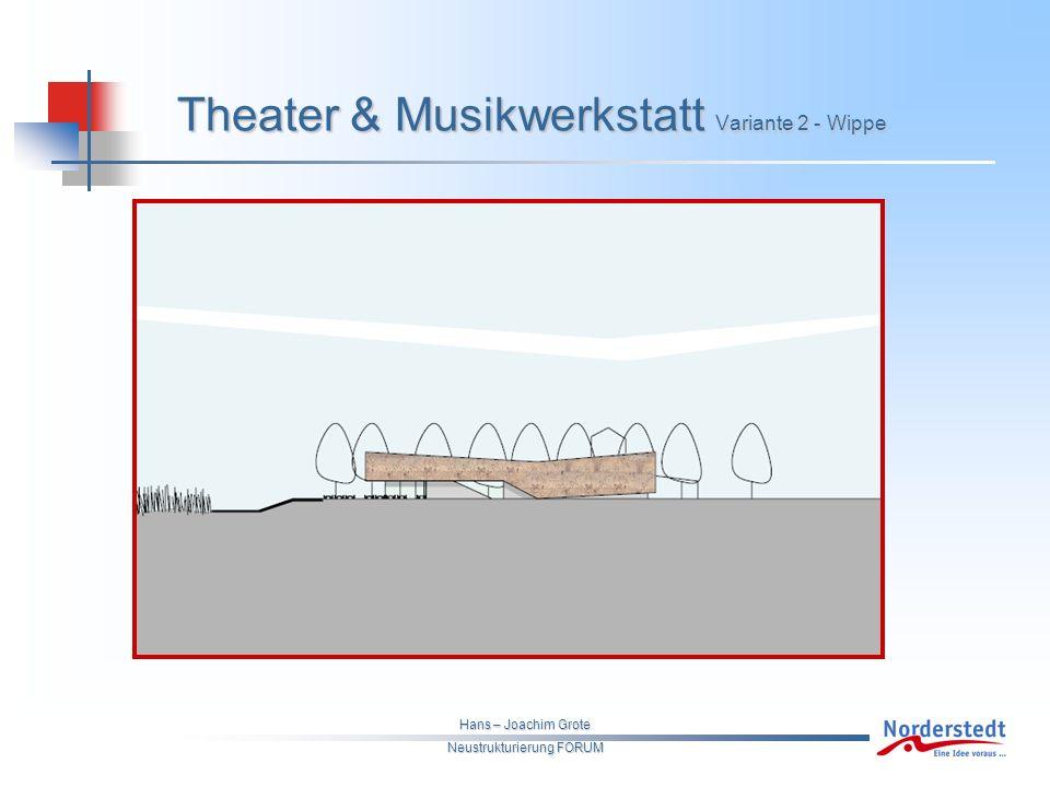 Hans – Joachim Grote Neustrukturierung FORUM Theater & Musikwerkstatt Variante 2 - Wippe